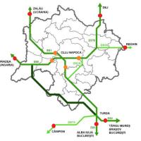 Traficul de tranzit: Cluj Napoca