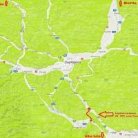 Legatura DN1-A3 in zona Tureni (I)