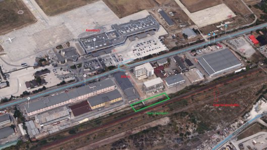 Aeroport - gara CFR propusa