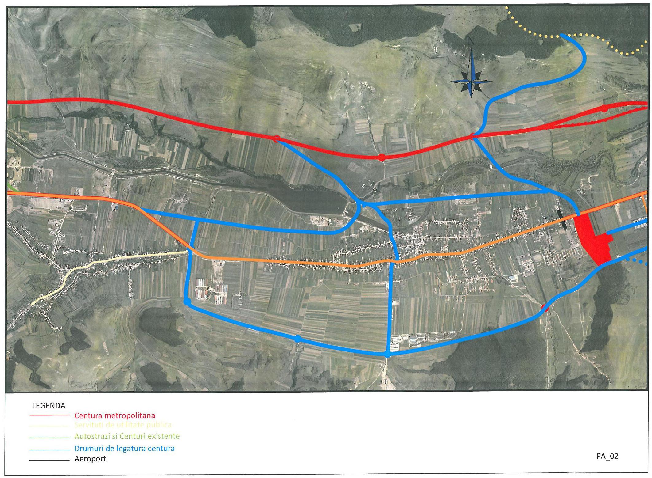 Centura Metropolitana Cluj I Descriere Traseu Pre Sf Pmud