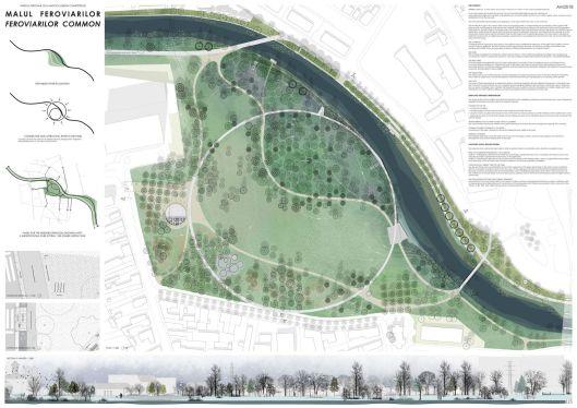 Proiect Parc Feroviarilor (premiul II)