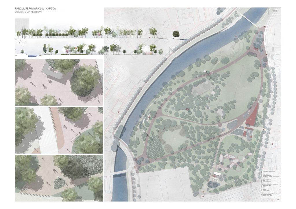 Proiect Parc Feroviarilor (premiul III)